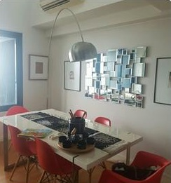 1BR One Rockwell West Condo Dining