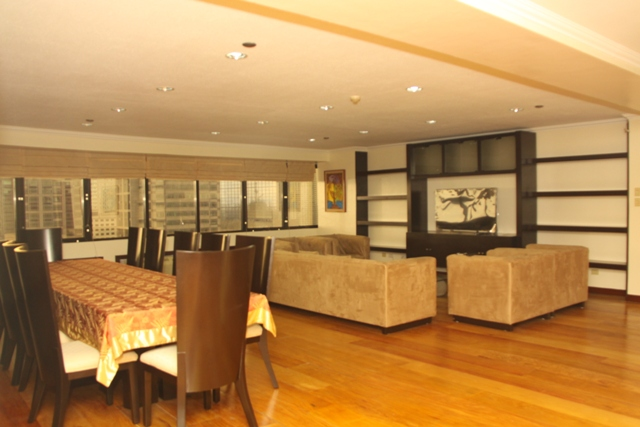 Condominium 3BR For Rent Pacific Plaza Ayala, Makati City