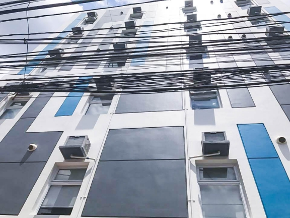 Makati Building For Sale Dormitory Facade