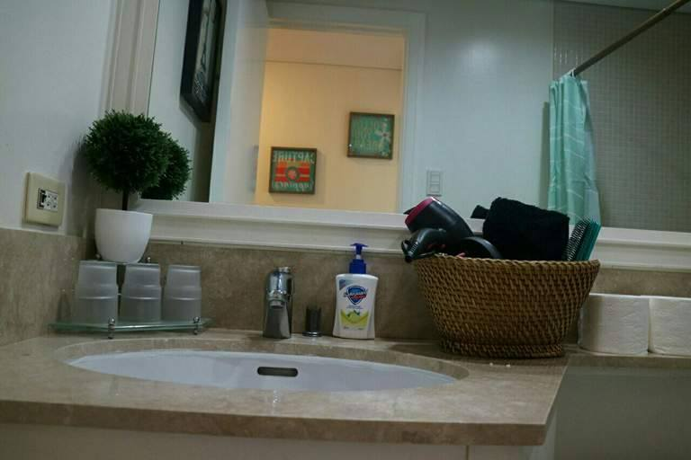 2BR Condo For Sale/Rent Manansala, Makati City Living Bathroom Sink View 1