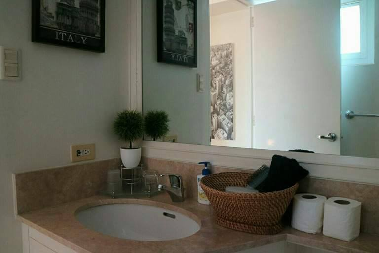 2BR Condo For Sale/Rent Manansala, Makati City Living Bathroom Sink View 2