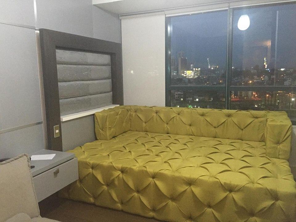 Studio Condo For Sale Edades Tower, Makati City Living Area 1