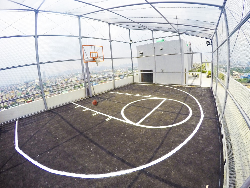 Dormitory Unit For Sale Forbes Hall, Manila City Basketball Court