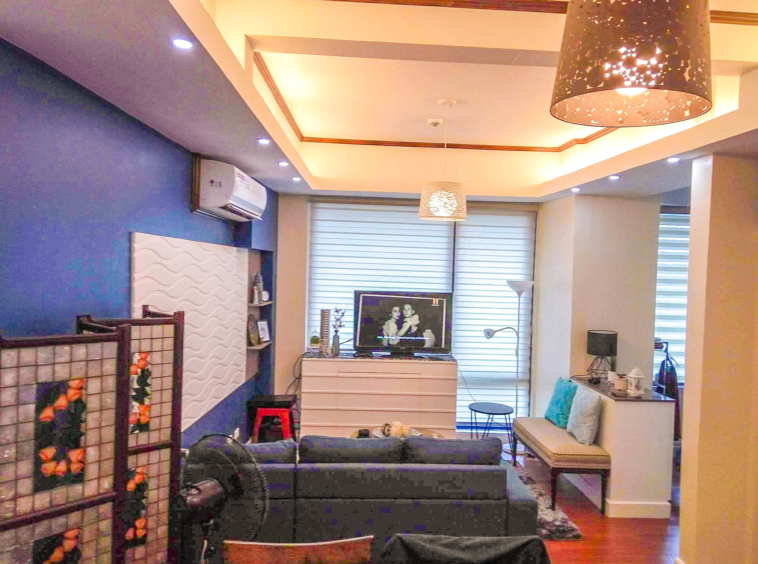 Studio For Rent Bellagio 2 Living Space