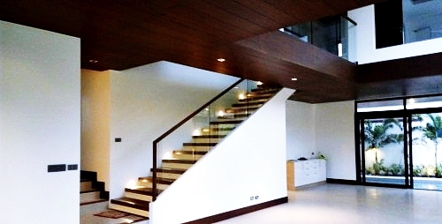 White Plains Subdivision Stairs