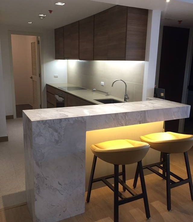 2BR Condo For Sale One Shangrila Kitchen