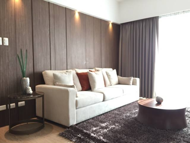 2BR Condo For Sale One Shangrila Living Area View 2