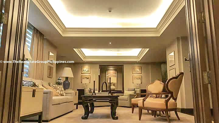 6BR House For Sale, Forbes Park Village, Makati City sala