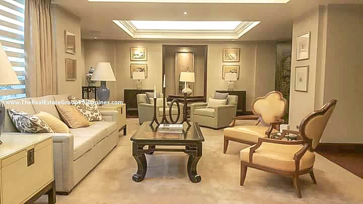 6BR House For Sale, Forbes Park Village, Makati City sofa