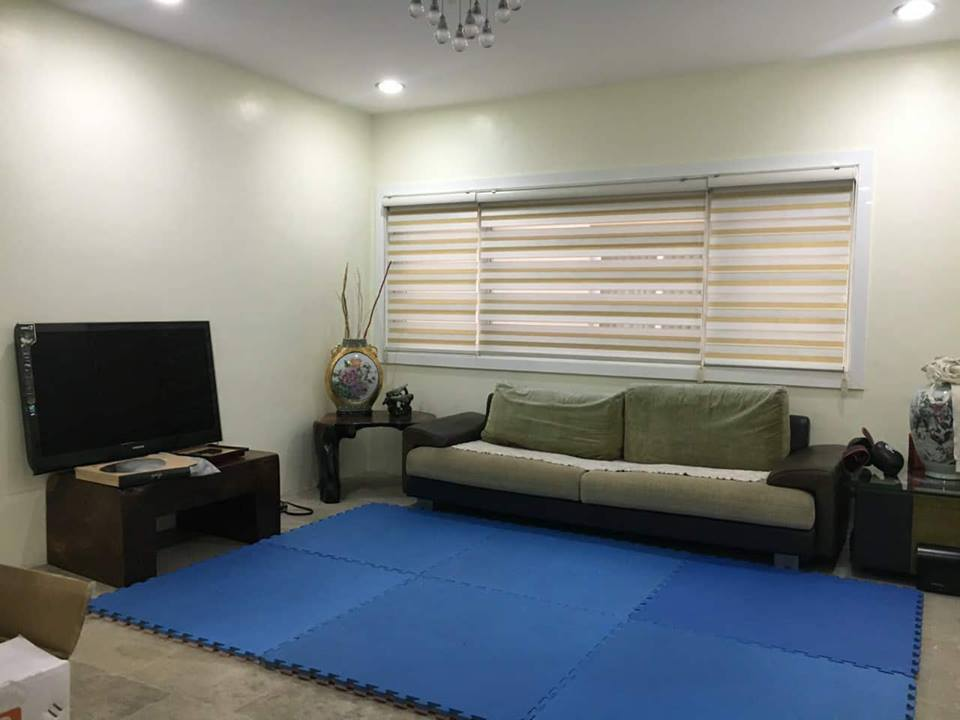 4BR Townhouse For Sale New Manila Living Area View 3