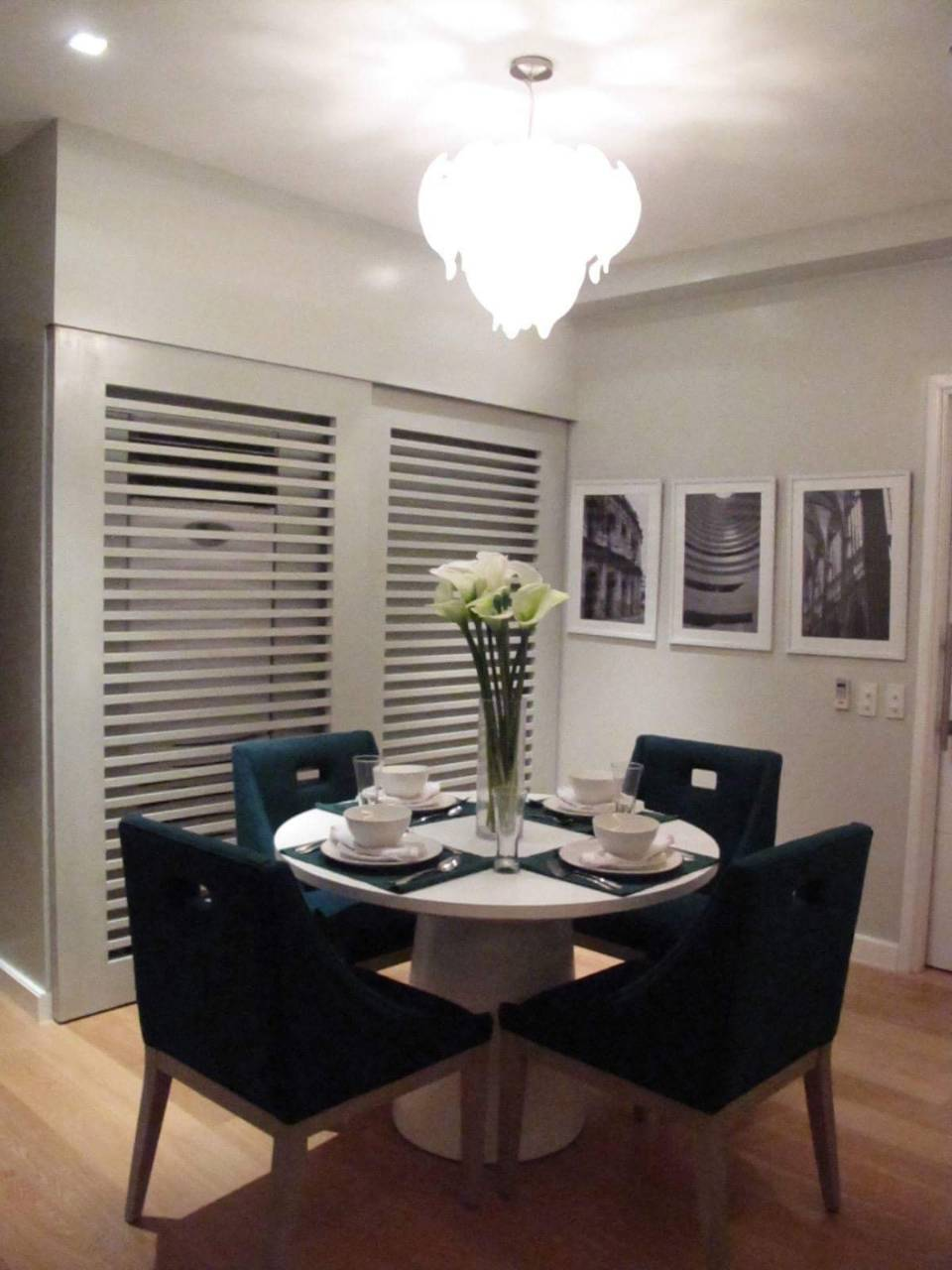 2BR For Rent San Lorenzo Tower Dining Area