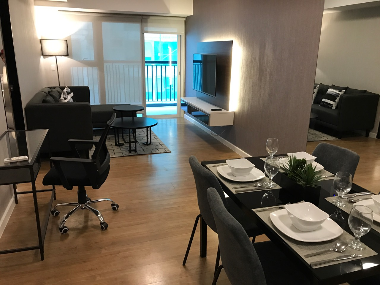 1BR Condo For Rent One Maridien View 1