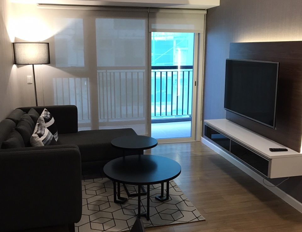 1BR Condo For Rent One Maridien Living Area View 1