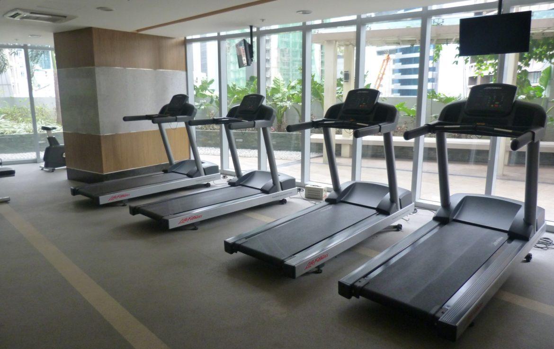 2BR Condo One Central, Salcedo Village Gym