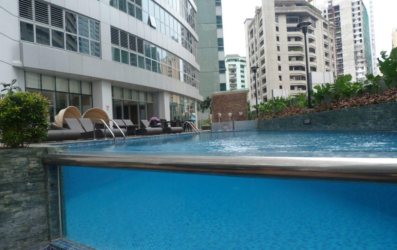 2BR Condo One Central, Salcedo Village Swimmin Pool View 2