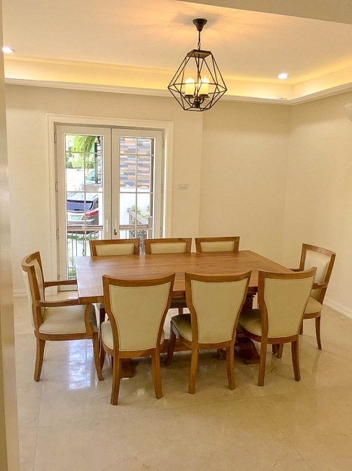 6 BR McKinley Hill Village For Sale Dining Area