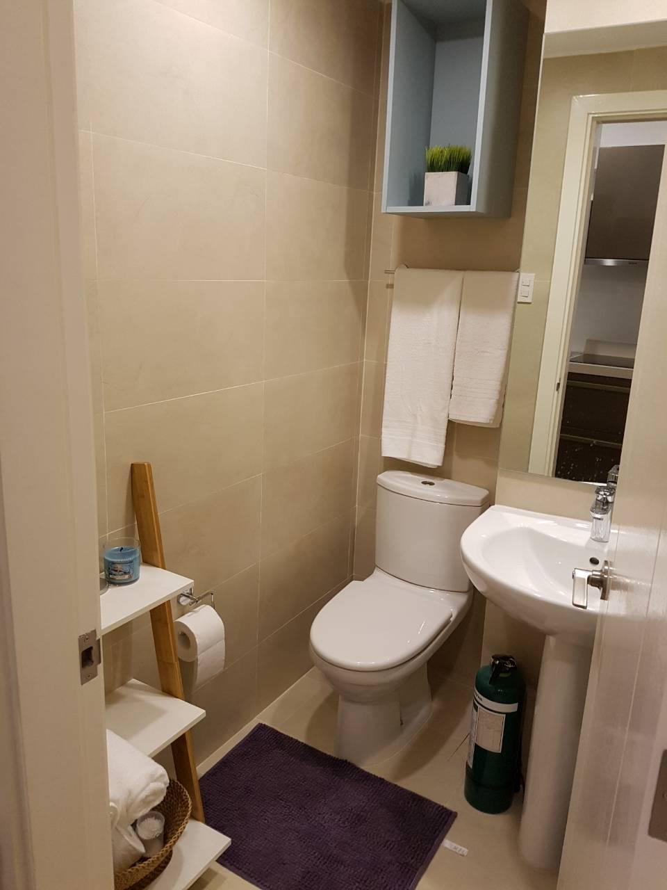 Studio Condo For Rent Milano Residences Bathroom