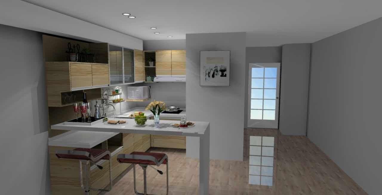 Studio Condo For Rent Meranti, Two Serendra, BGC Kitchen
