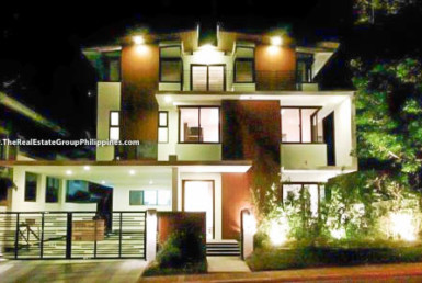 6BR House For Sale Rent, Buckingham St., Hillsborough Alabang Village, Muntinlupa City Facade