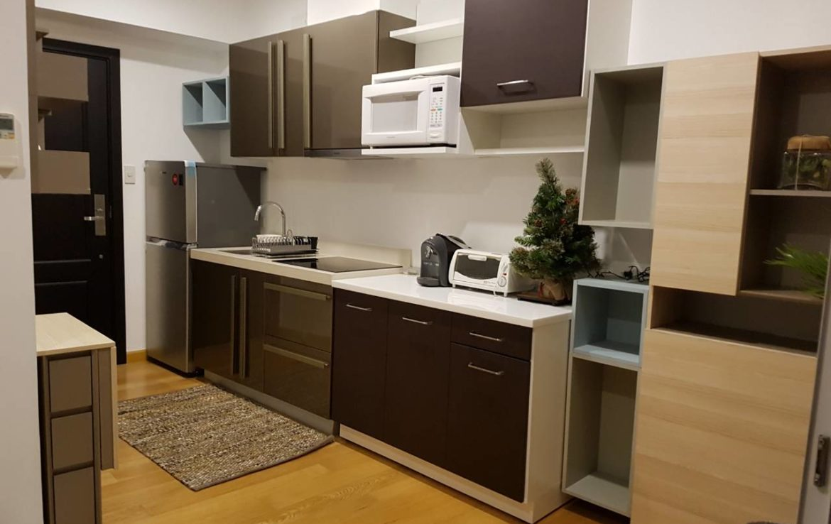 Studio Condo For Rent Milano Residences Kitchen