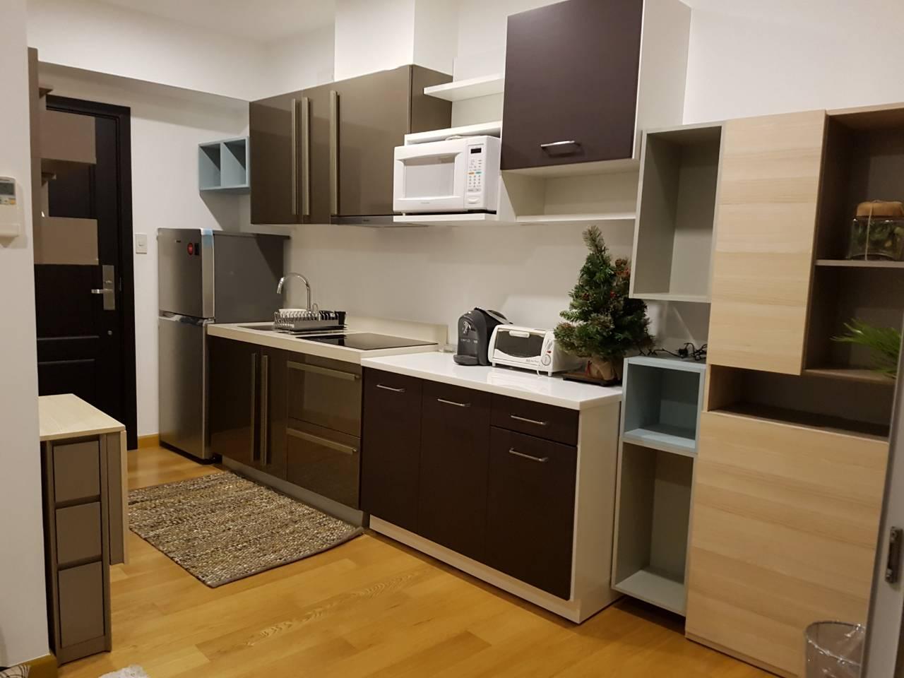Studio Condo For Rent Milano Residences Kitchen