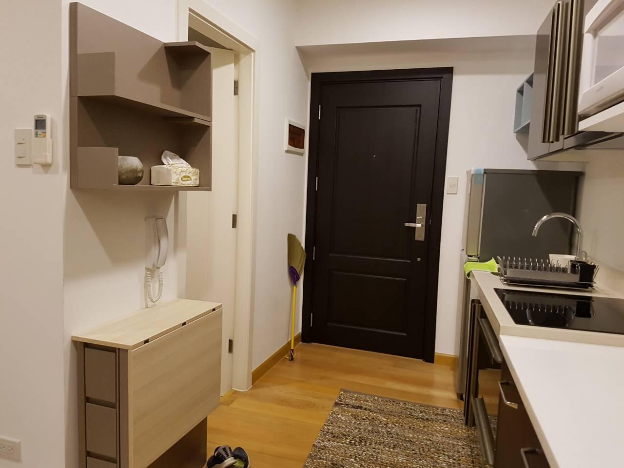 Studio Condo For Rent Milano Residences Entrance