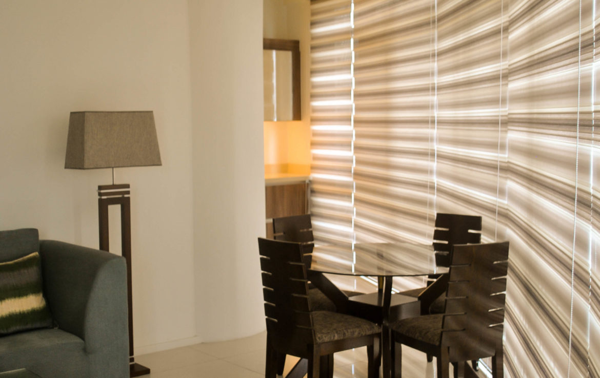 2BR Arya Residences For Rent Dining Area2