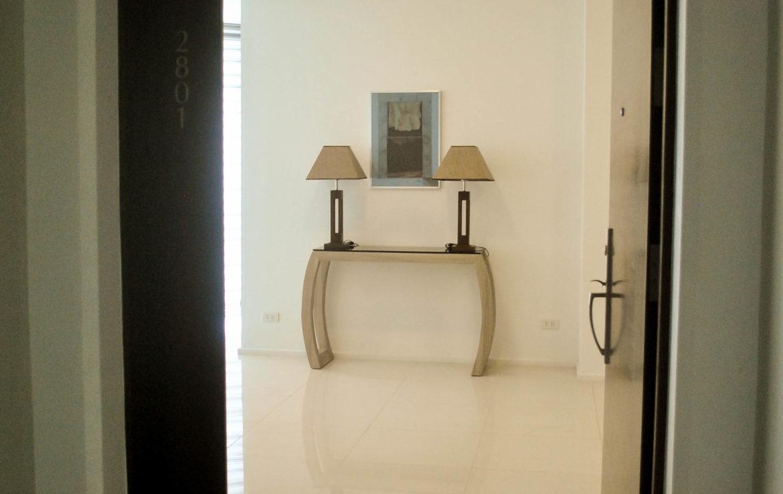 2BR Arya Residences For Rent Foyer