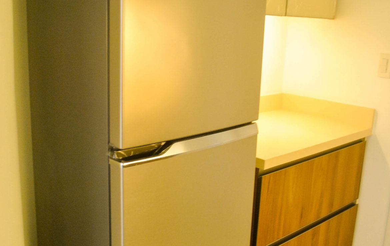 2BR Arya Residences For Rent Kitchen Refrigerator