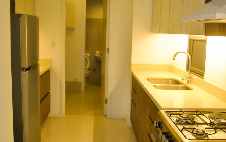 2BR Arya Residences For Rent Kitchen Side