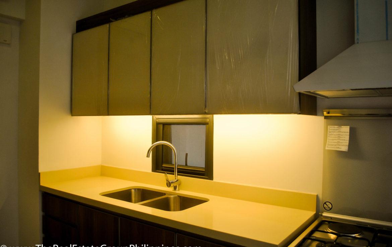 2BR Arya Residences For Rent Kitchen Sink