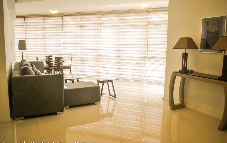 2BR Arya Residences For Rent Living