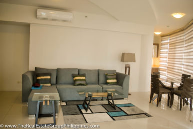 2BR Arya Residences For Rent Living & Dining