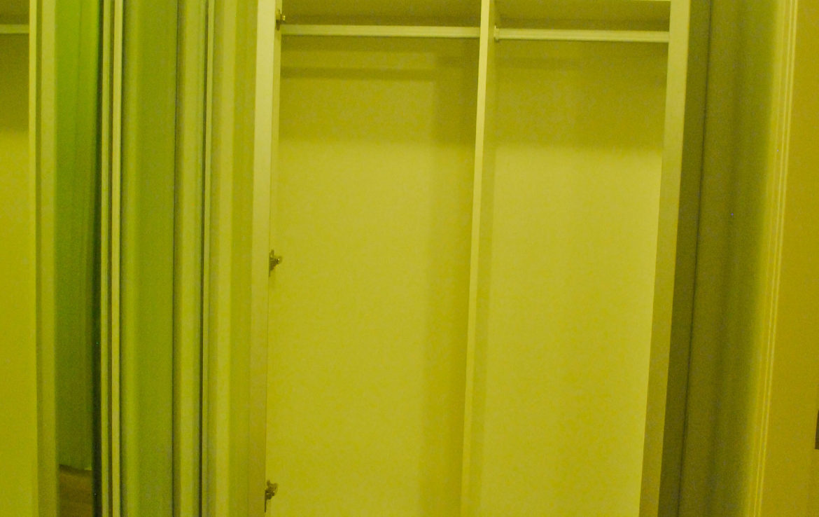 2BR Arya Residences For Rent Master Bedroom Closet Open2