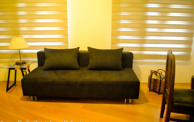 2BR Arya Residences For Rent Sofa