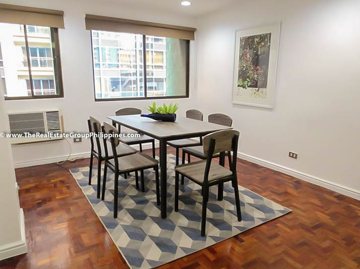 3BR Condo Heart Tower For Sale, Salcedo Village, Makati City dining
