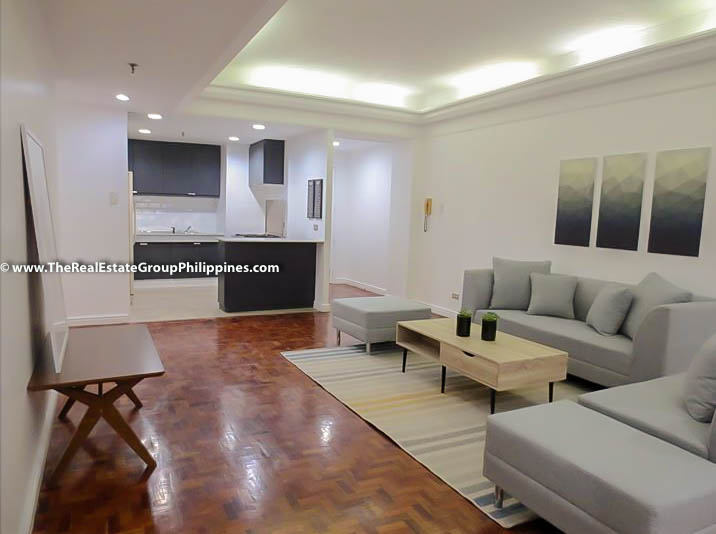 3BR Condo Heart Tower For Sale, Salcedo Village, Makati City living kitchen