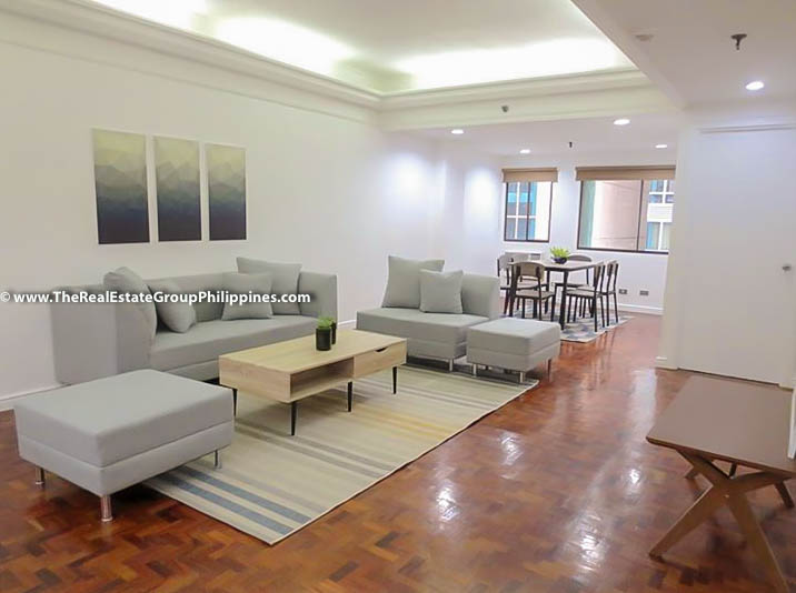 3BR Condo Heart Tower For Sale, Salcedo Village, Makati City living
