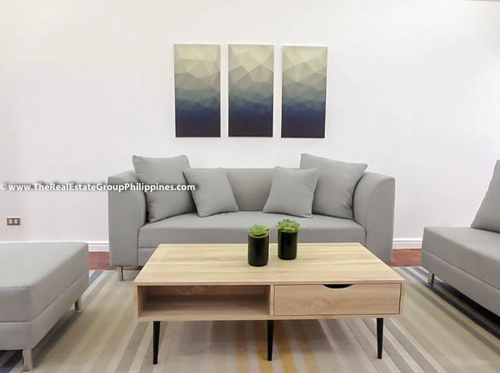 3BR Condo Heart Tower For Sale, Salcedo Village, Makati City sofa