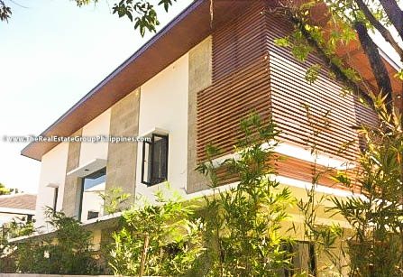 4BR House For Rent Sale, Buckingham St, Hillsborough Alabang Village, Muntinlupa City facade