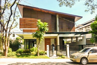 4BR House For Rent Sale, Buckingham St, Hillsborough Alabang Village, Muntinlupa City front