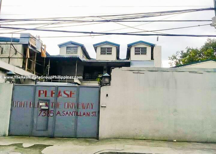 892 Sqm, Vacant Lot For Sale, Arnaiz Avenue Cor Santillan Street, Makati City Front Gate