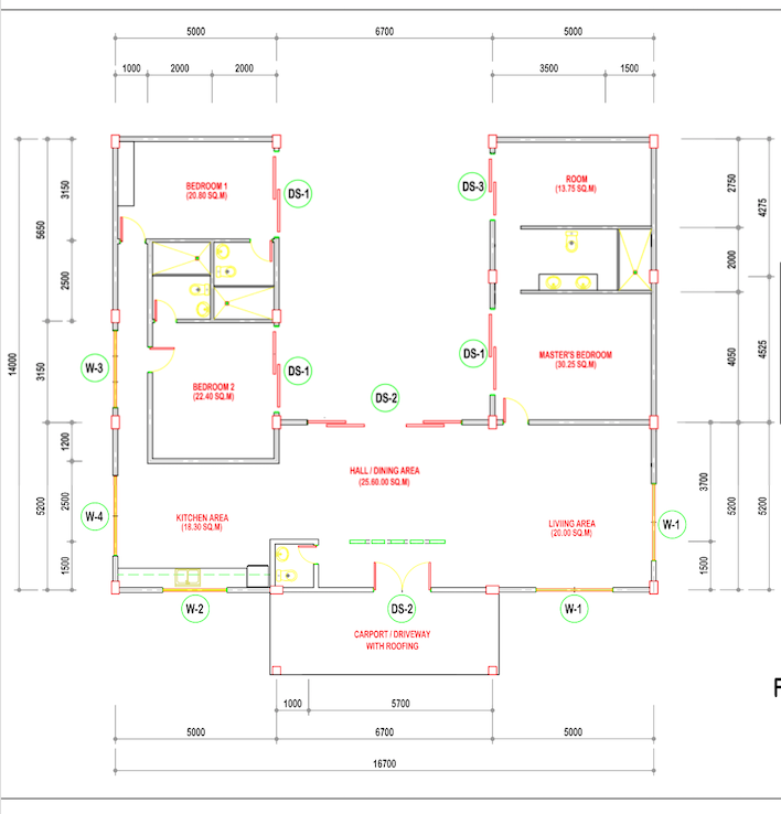 Villa 3 Floor Plan