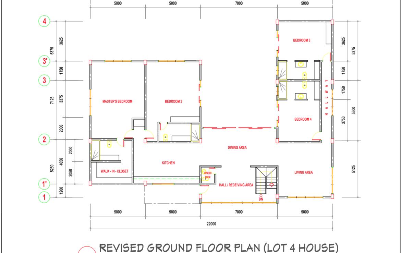 Villa 4 Floor Plan