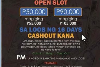 NEWG Bitcoin Philippine Scam