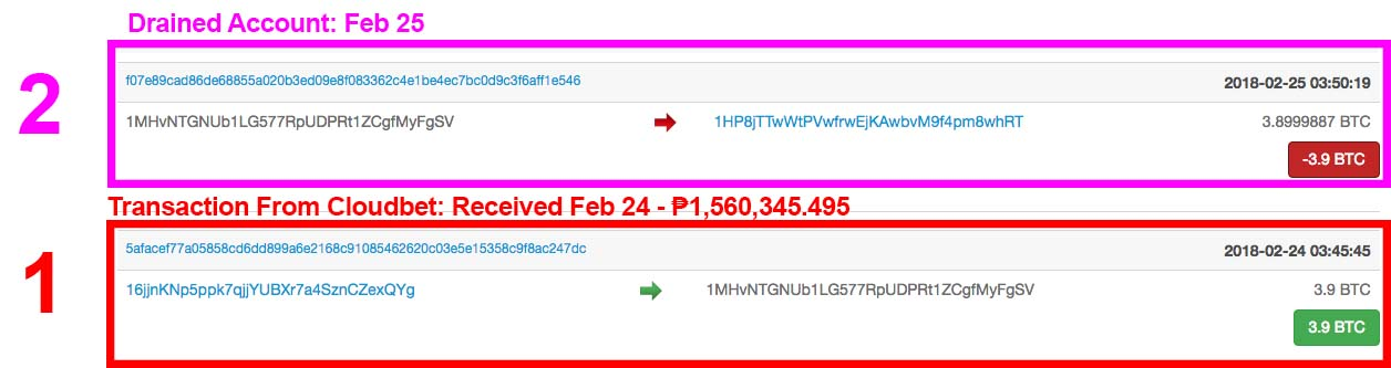 Arnel Ordonio Bitcoin 4th Transactions