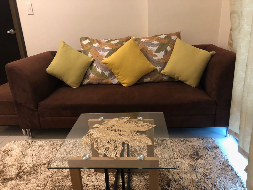 2BR Condo For Rent, Parkwest Living Area View 1