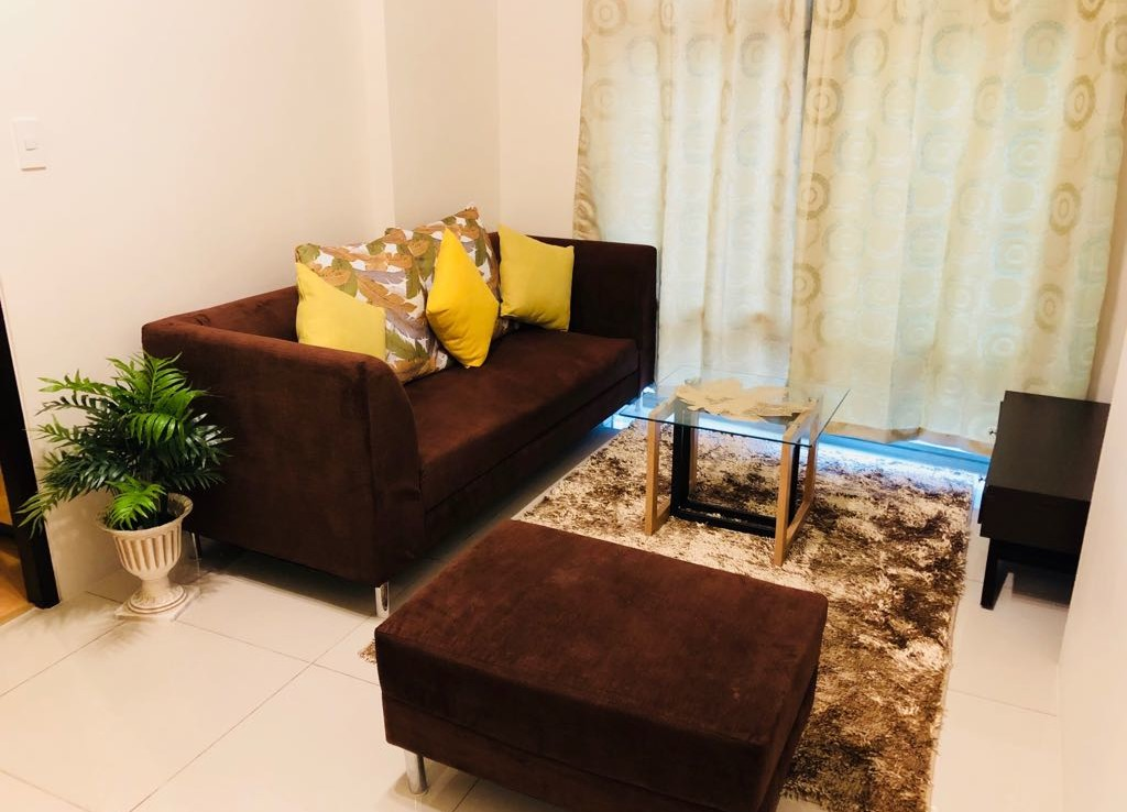 2BR Condo For Rent, Parkwest Living Area View 2