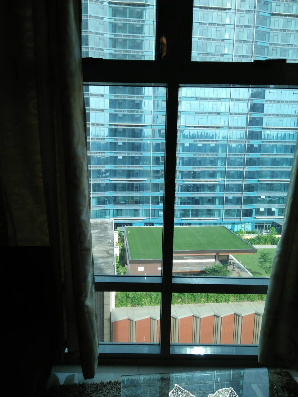 2BR Condo For Rent, Parkwest Balcony View 3