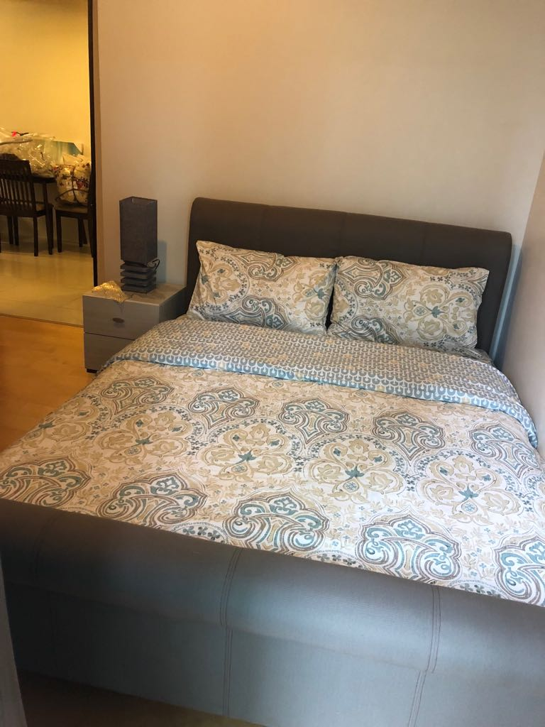 2BR Condo For Rent, Parkwest Bedroom View 2